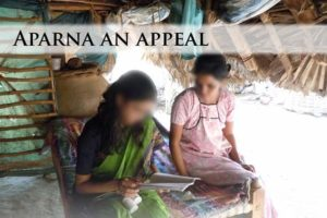 Aparna An Appeal - Website - Project Raahat